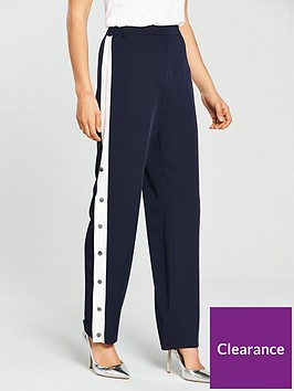 warehouse-popper-side-trousers-navywhite