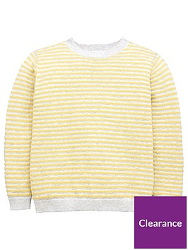 mango-boys-stripe-textured-knit-jumper-yellow