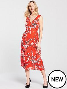 warehouse-bamboo-midi-dress