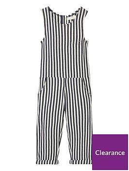 mango-girls-stripe-textured-jumpsuit