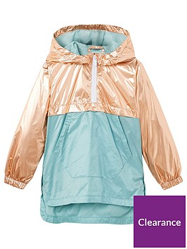 mango-girls-metallic-hooded-jacket