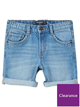 mango-boys-distressed-denim-shorts