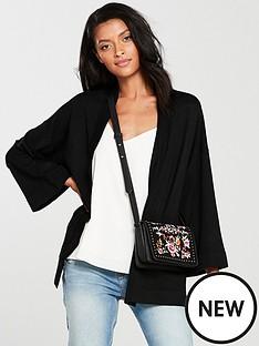 v-by-very-kimono-sleeve-edge-to-edge-cardigan-black