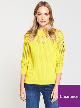 v-by-very-mesh-jumper-yellow