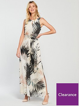 wallis-shadow-palm-chiffon-maxi-dress-multinbsp