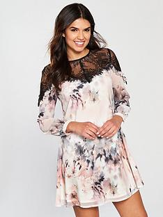 little-mistress-printed-chiffon-mini-dress