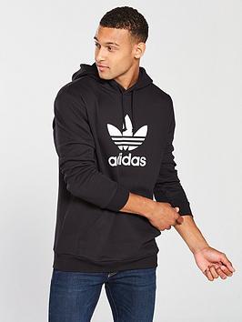 adidas Originals Adidas Originals Trefoil Hoodie - Black Picture