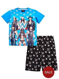 wwe-boys-shorty-pyjamas