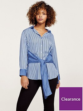 violeta-plus-size-blouse-blue