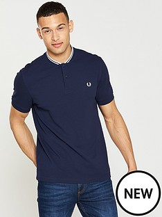 fred-perry-bomber-collar-pique-shirt