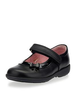 start-rite-girls-maria-velcro-strap-school-shoe-black