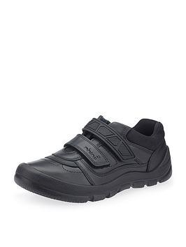 Start-Rite Start-Rite Rhino Warrior School Shoes - Black Picture
