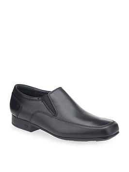 Start-Rite Start-Rite Older Slip On Tyler School Shoes - Black Picture