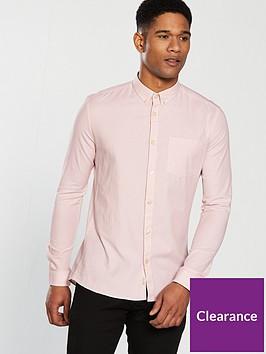 river-island-long-sleeve-oxford-shirt