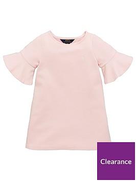 ralph-lauren-girls-ponte-frill-sleeve-dress-hint-of-pink
