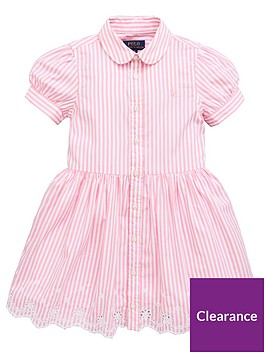 ralph-lauren-girls-stripe-shirt-dress-pinkwhite