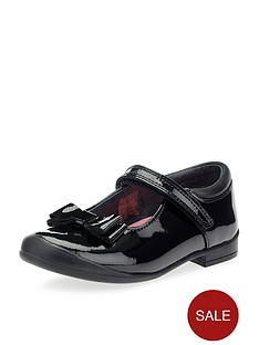 start-rite-girls-pussycat-bow-school-shoes-black