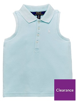 ralph-lauren-girls-classic-sleeveless-polo-crystalnbspblue