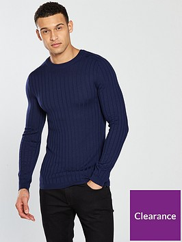 river-island-ls-clark-knitted-jumper