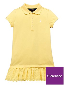 ralph-lauren-girls-lace-trim-polo-dress-yellow