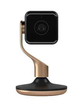 Hive   View Home Monitoring Camera - Black And Brushed Copper -  View Black/Copper 2 Pack