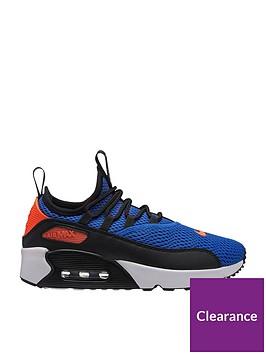 Nike Air Max 90 Ultra 2 Ease Junior Trainer - Blue Black ... 656078779de8