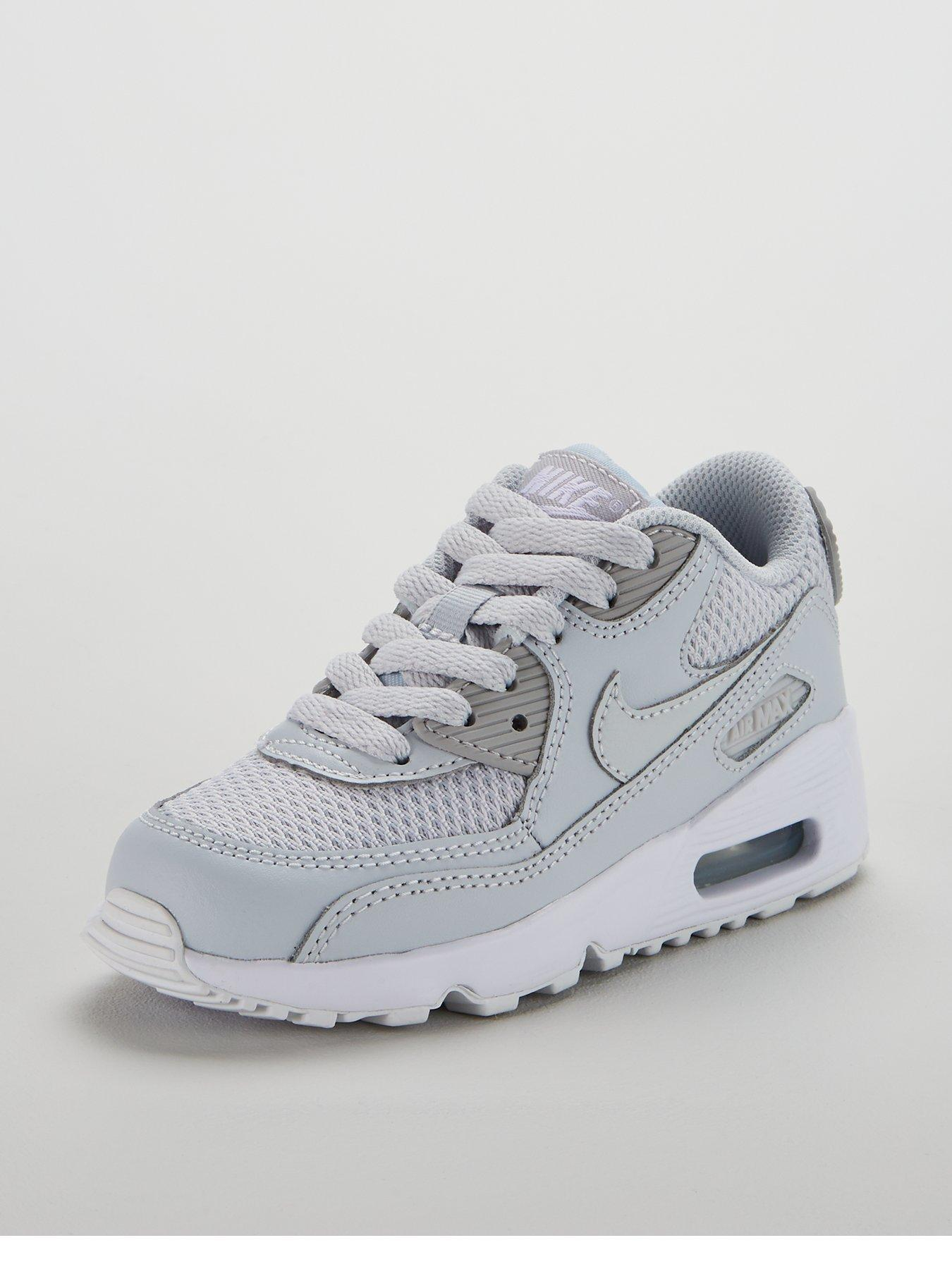 Nike Air Max 90 Grands Enfants Chaise Maille