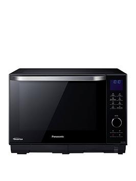 Panasonic   27-Litre Freestanding 4-In-1 Steam Combination Microwave, Oven &Amp; Grill Nn-Ds596Bbp
