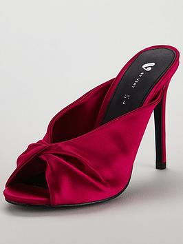 v-by-very-manhattan-satin-high-heel-mule-sandal-hot-pink
