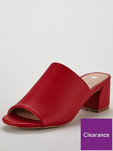 v-by-very-toronto-cross-strap-low-block-mule-red
