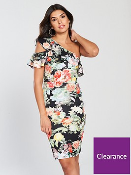 v-by-very-one-shoulder-ruffle-scuba-bodyconnbspdress