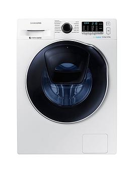 Samsung   Wd80K5B10Ow/Eu 8Kg Wash, 6Kg Dry, 1400 Spin Addwash&Trade; Washer Dryer With Ecobubble&Trade; Technology - White