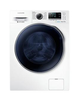 Samsung   Wd90J6A10Aw/Eu 9Kg Wash/6Kg Dry, 1400 Spin Washer Dryer With Ecobubble&Trade; Technology - White