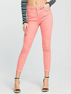 v-by-very-ella-high-waistednbspskinny-jean-pink