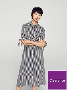 mango-shirt-dress-stripe