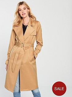 d6fc47eef6a2a V by Very Trench Coat - Camel