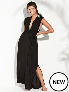 v-by-very-multiwaynbspmaxi-beach-dress-black
