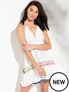 v-by-very-halter-pom-pom-beach-sundress-whitenbsp