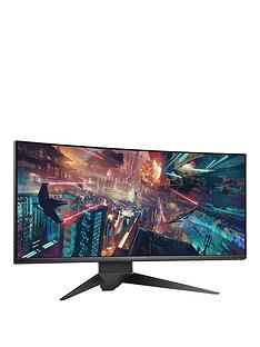 alienware-aw3418dw-34-inch-wqhd-3440x1440-ips-120hz-nvidia-g-synctrade-dp-usb-30-alienfxtrade-lighting-1900r-curved-gaming-monitor