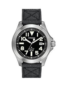 citizen-eco-drive-super-titanium-black-dial-black-kevlar-strap-mens-watch