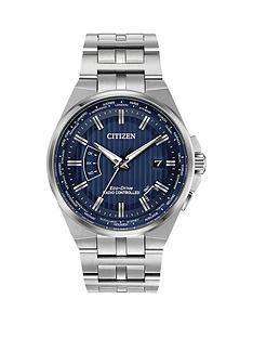 citizen-eco-drive-world-perpetual-a-t-blue-dial-stainless-steel-bracelet-mens-watch