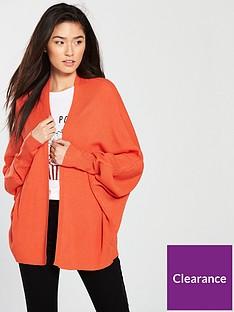 v-by-very-ribbednbspbatwing-cardigan-red-orange