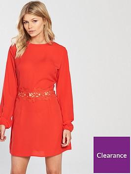 ax-paris-petite-crochet-waist-dress
