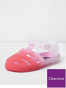 river-island-mini-girls-pink-ombre-jelly-cage-sandals