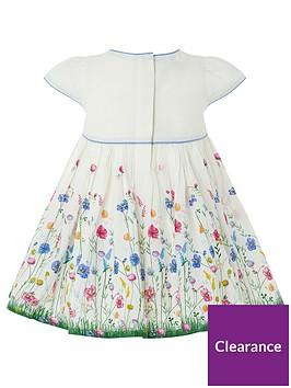 a15d23b806fd Monsoon Newborn Baby Clover Dress