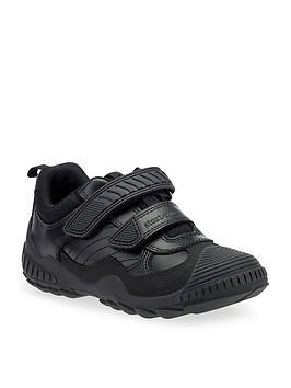 Start-Rite Start-Rite Boys Extreme Pri Velcro Strap School Shoes - Black Picture