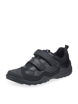 start-rite-older-boys-velcro-strap-school-shoes-black