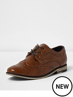 river-island-tan-brogues