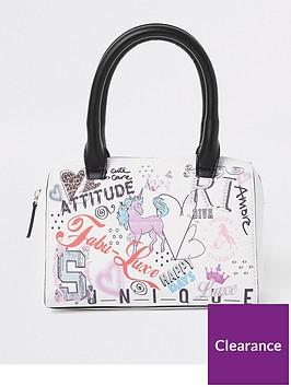 river-island-girls-graffiti-print-bowler-bag