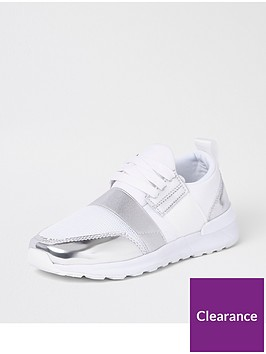 river-island-girls-metallic-mesh-runner-trainer